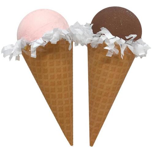 Mini Surprize Ball Ice Cream Cone, strawberry