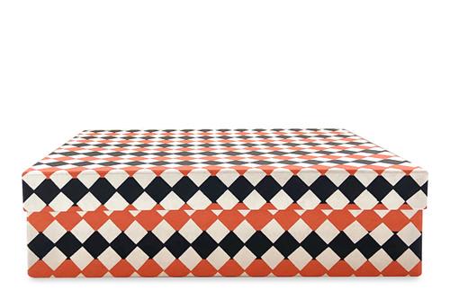 Katazome Checkers Boxes