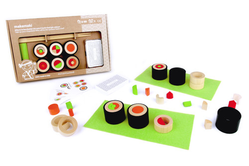 Make Maki Sushi Game