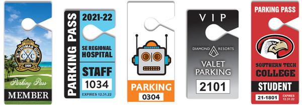 Custom Parking Passes