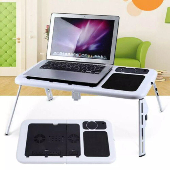 E-Table - Portable Laptop Desk With Cooler Fan