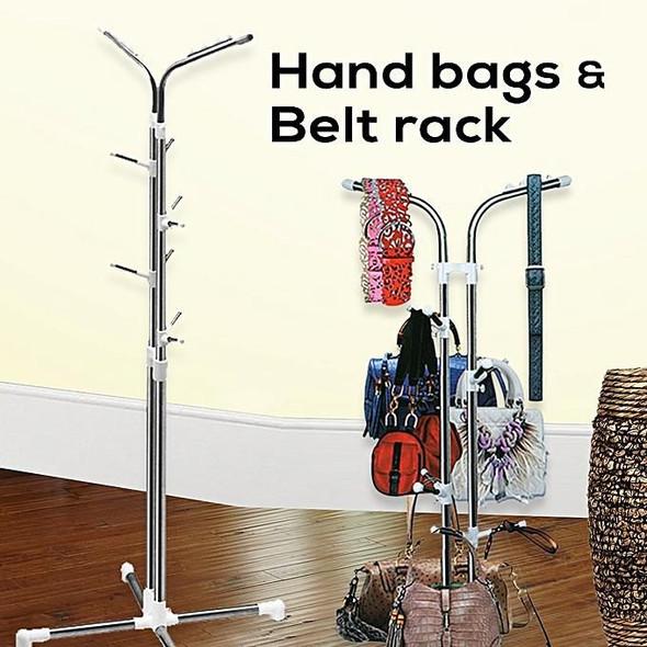 Handbag & Belts Organizing Rack