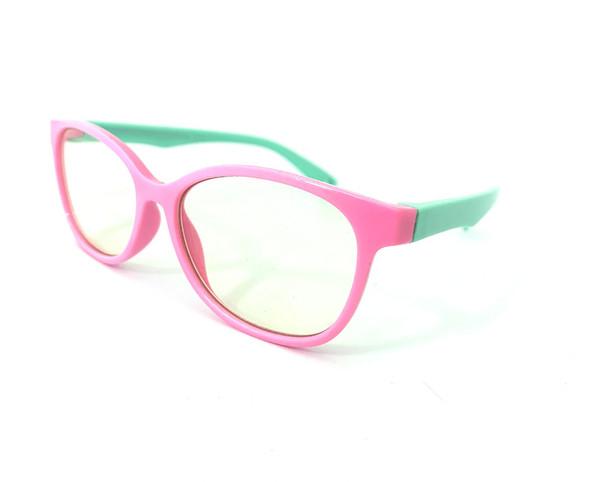 Little Bambino Blue Shield Kids Glasses