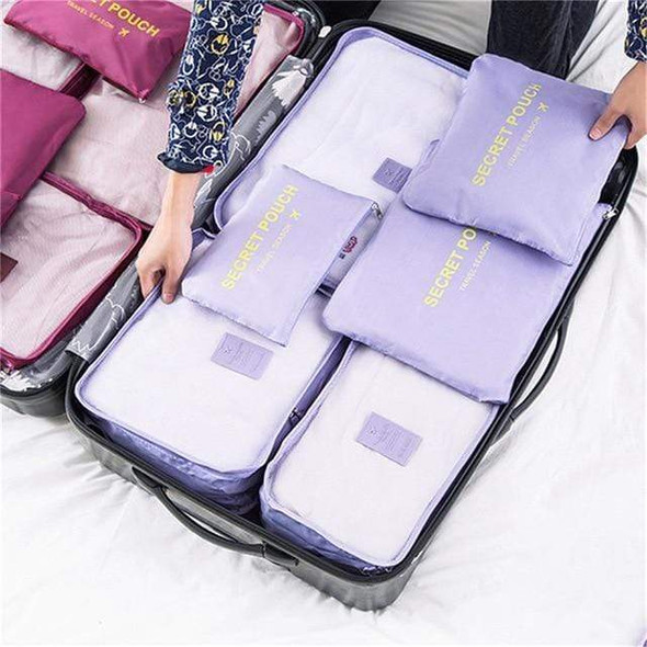 6 Piece Luggage Organizers