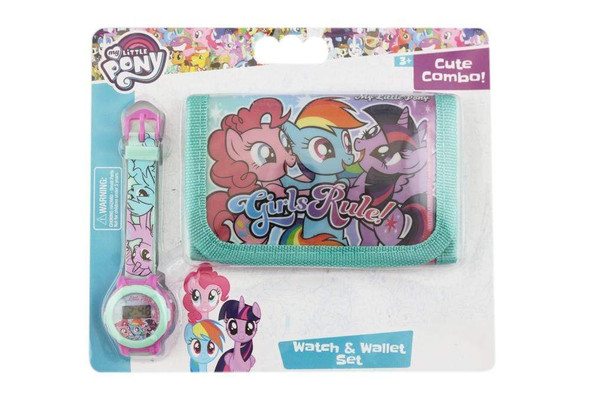 Character Kids Wallet and Watch Set