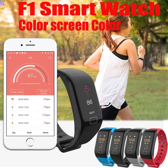 F1 Smart Fitness Bluetooth Bracelet