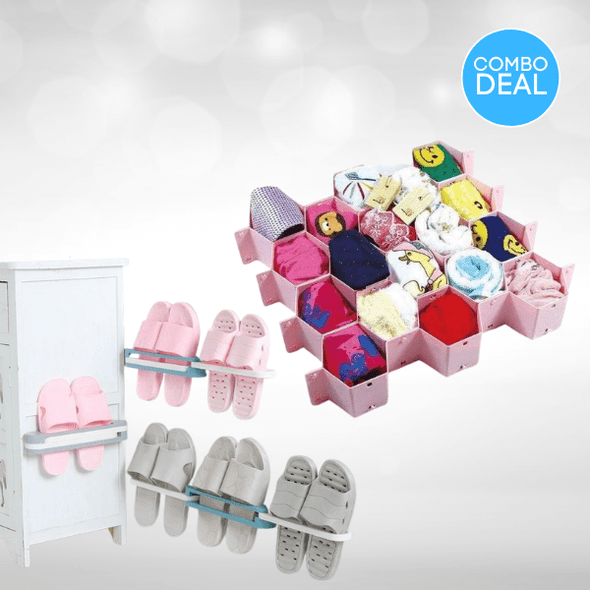 2-piece-adjustable-wall-mounted-shoe-rack-honeycomb-drawer-organizer-snatcher-online-shopping-south-africa-29053654073503.png