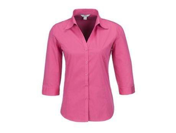 ladies-3-4-sleeve-metro-shirt-fuscia-only-snatcher-online-shopping-south-africa-19366377652383.jpg