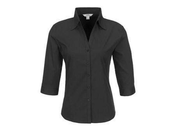 ladies-3-4-sleeve-metro-shirt-black-only-snatcher-online-shopping-south-africa-19366530252959.jpg