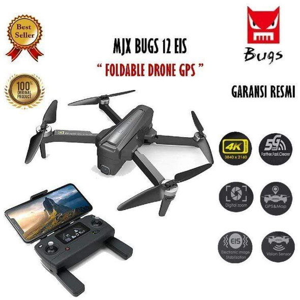 mjx-bugs-foldable-drone-with-5g-gps-snatcher-online-shopping-south-africa-29833669083295
