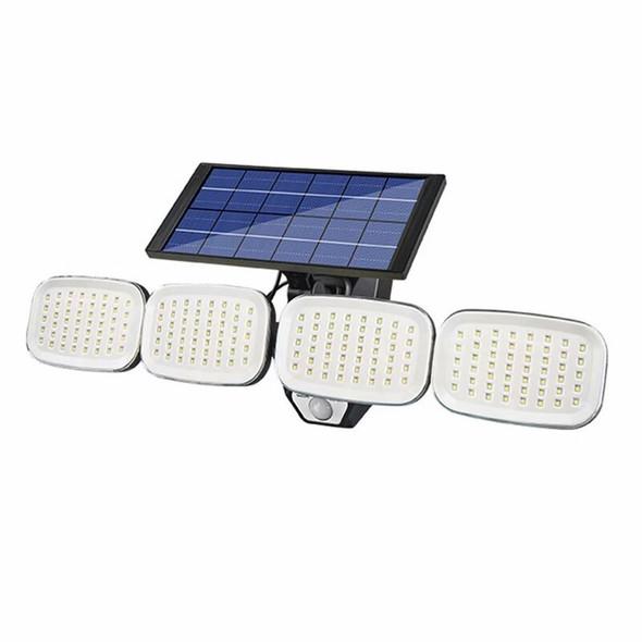 Four Head Solar Wall Light