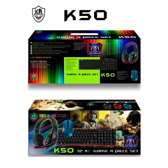 Combo-Gamer-Kit-4-Piezas-Teclado-Mouse-Audifonos-Pad-Mouse-K50