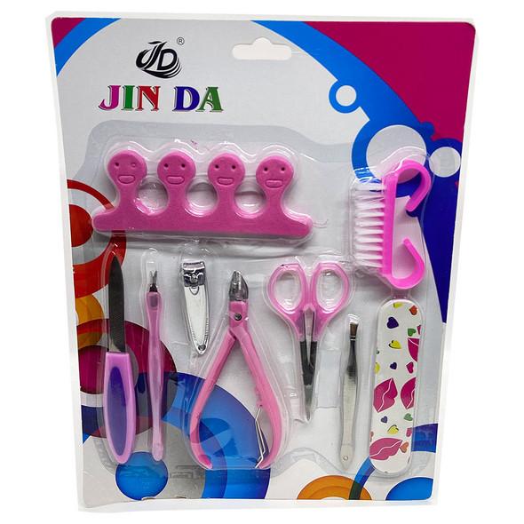 kit-manicure-Atacado-Jin-Da-Atacado-9-peças-S-283