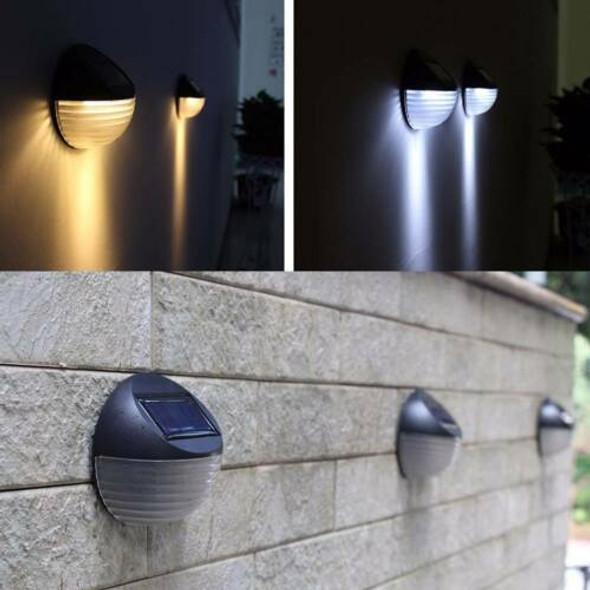 Pack Of 4 Solar LED Fence Lights