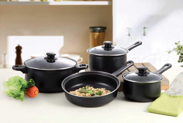 7 Piece Carbon Steel Cookware Set