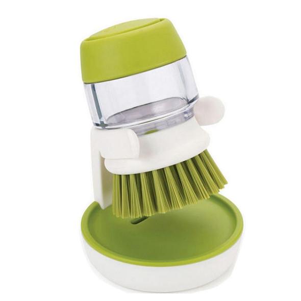 Boster Soap Dispensing Palm Brush