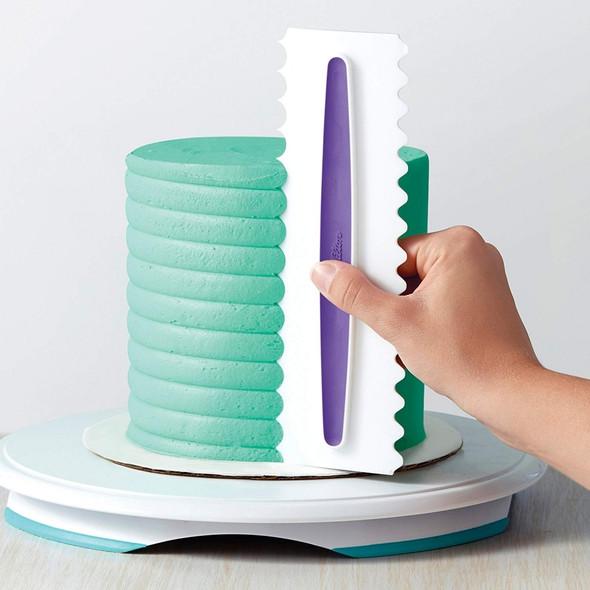 6-in-1 Cake Icing Scraper Set