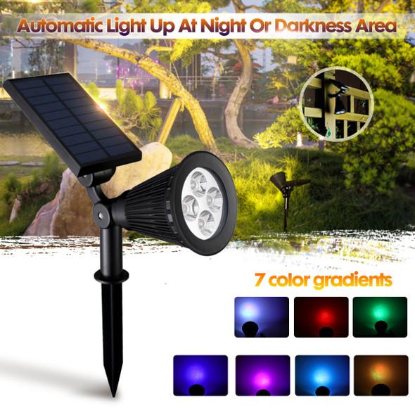 Multi-Colour Solar Garden Lights