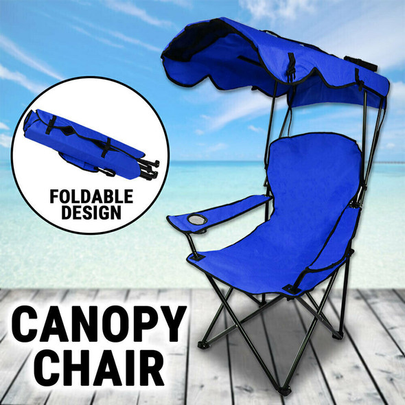 Camping Chair With Canopy