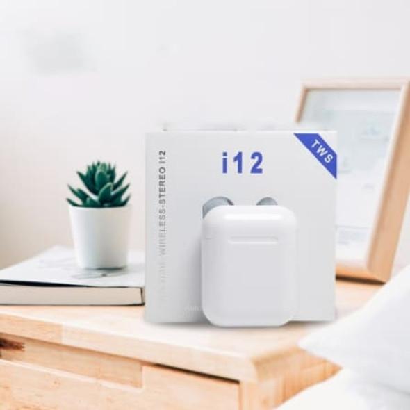 i12 TWS Bluetooth Earphones with Charging Case