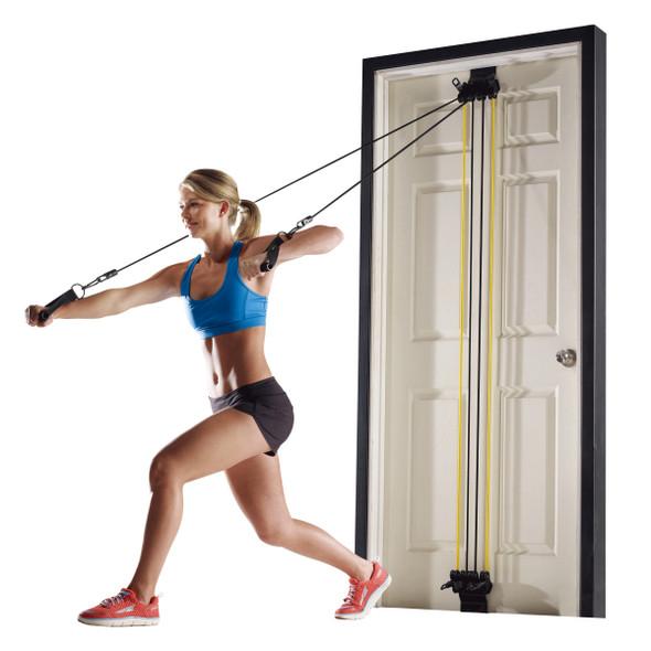 Volkano Active Doorway Gym - Black/ Yellow