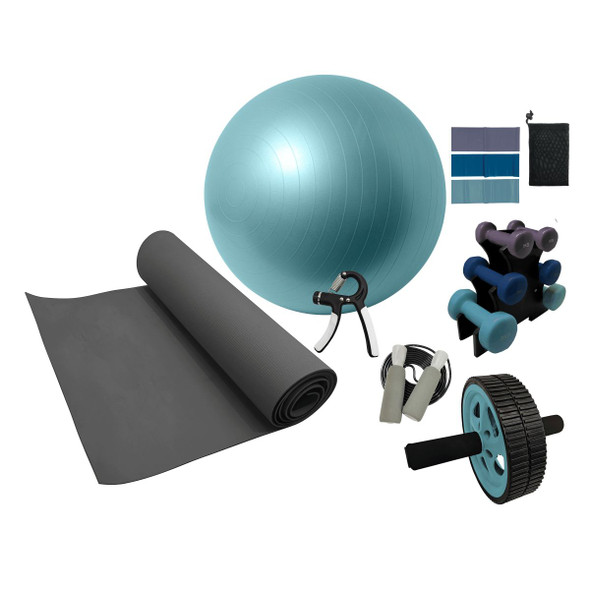 Volkano Active Home Gym Kit 7 Piece Set - Multi
