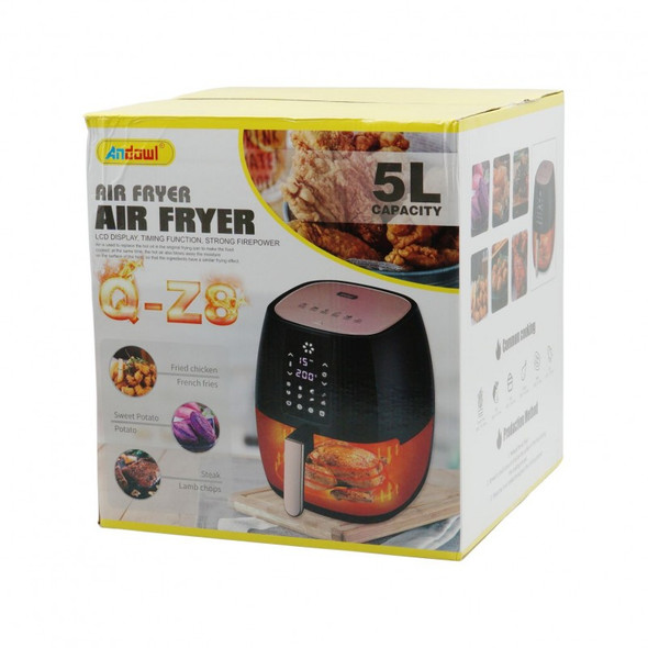 5 Liter Air Fryer with LCD Touch Control