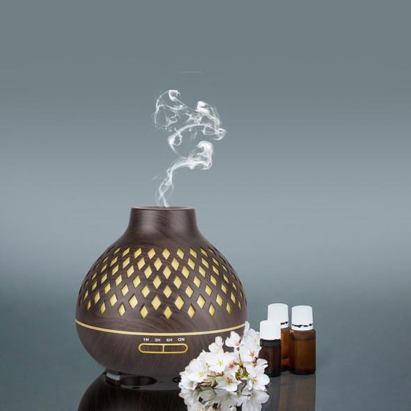 Aroma Diffuser with Diamond-Shaped Design