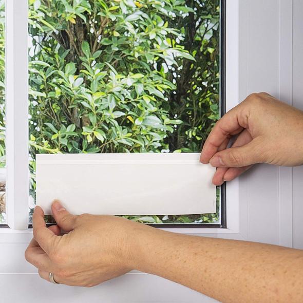 Set of 3 Transparent Vastrap Window Fly Traps