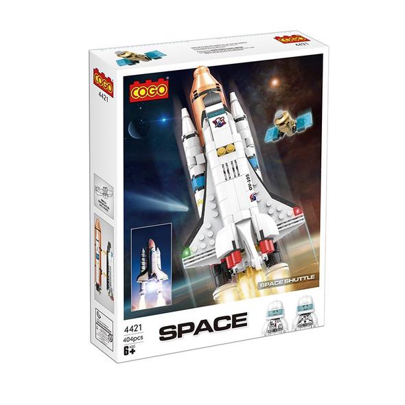 Cogo Space Shuttle Building Blocks 404pcs
