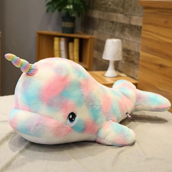 Rainbow Narwhale Plush Toy
