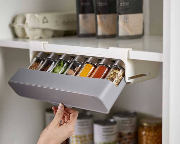 Under-Shelf Spice Rack