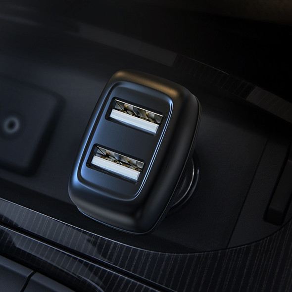 Hoco Z36 Leader Dual USB Port Car Charger
