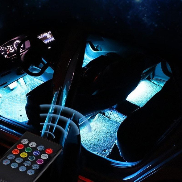 LED Sound-Controlled Chassis Decorative Lights
