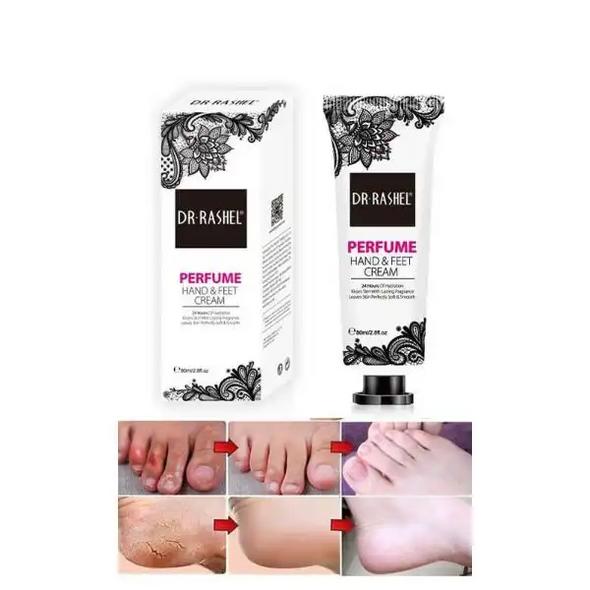 Dr Rashel Pack of 2 Perfume Hand & Feet Cream