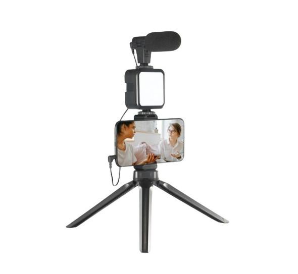 Vlogging Camera Kit With LED Light