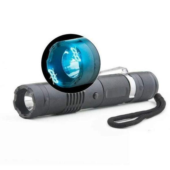 FOX M-11 Stun Gun + LED Flashlight