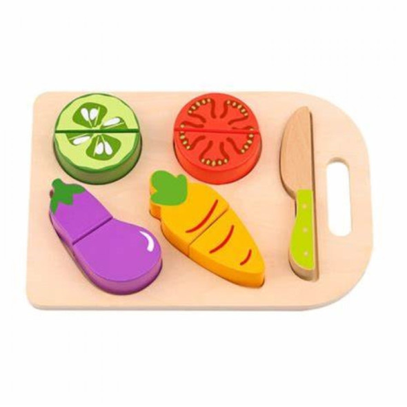 Nuovo Wooden Cutting Set- 5 Piece