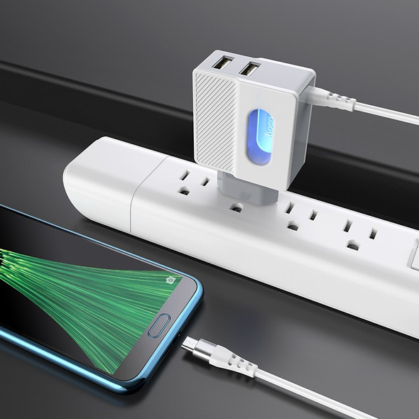 Hoco C75 Imperious Wall Charger DC5V 2.4A Charging Adapter