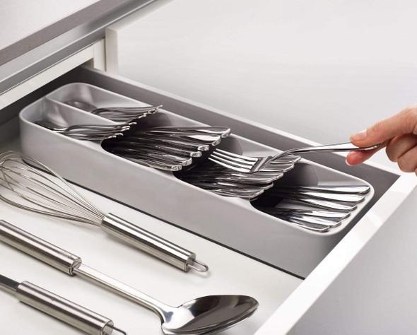 Cutlery Drawer Organizer & 24-Piece Cutlery Set