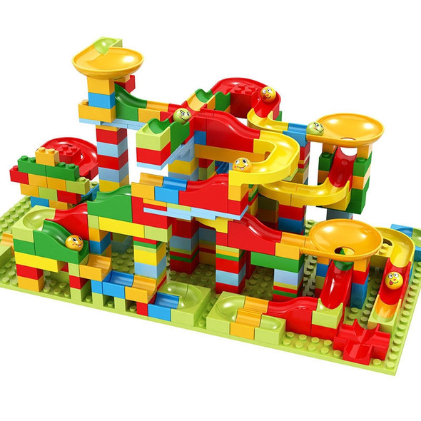 2-in-1 Marble Run Building Block Sets