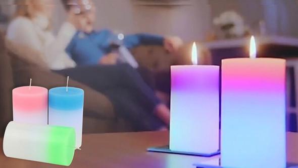 LED Mood Magic Candle
