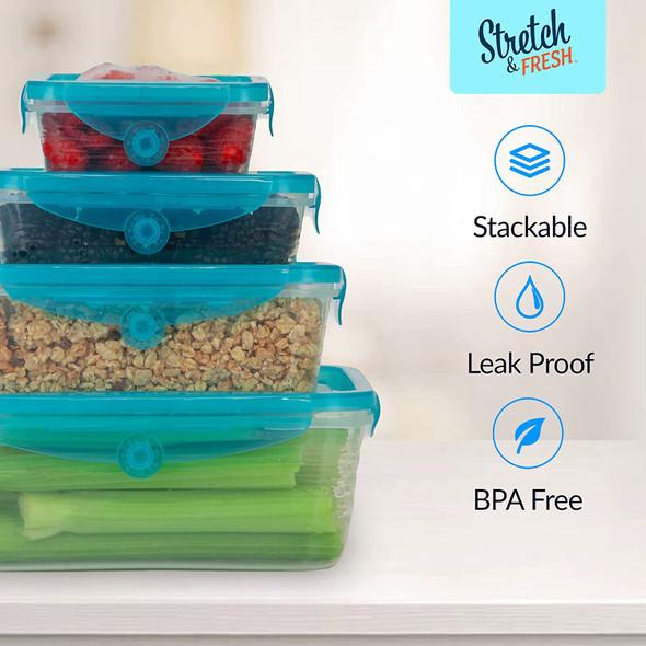 6 Piece Food Storage Lids