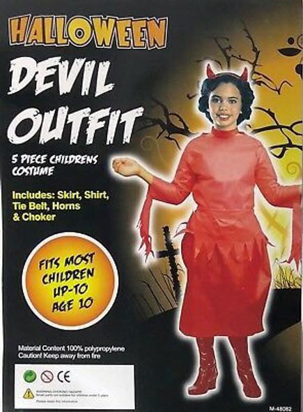 Dress up kit horror child