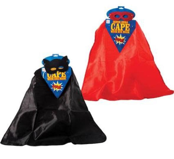 Dress Up Cape Child Hero & Eye Mask