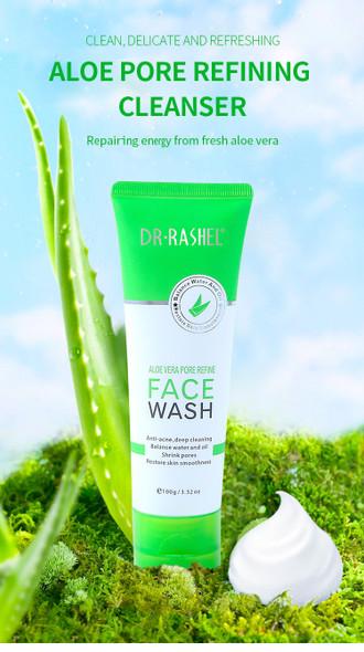 Dr Rashel Aloe Vera Pore Refine Face Wash 100g