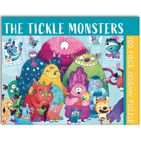 The Tickle Monster - 100 Piece Puzzle