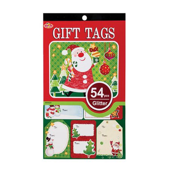 Christmas Gift Tags - 54 Pieces