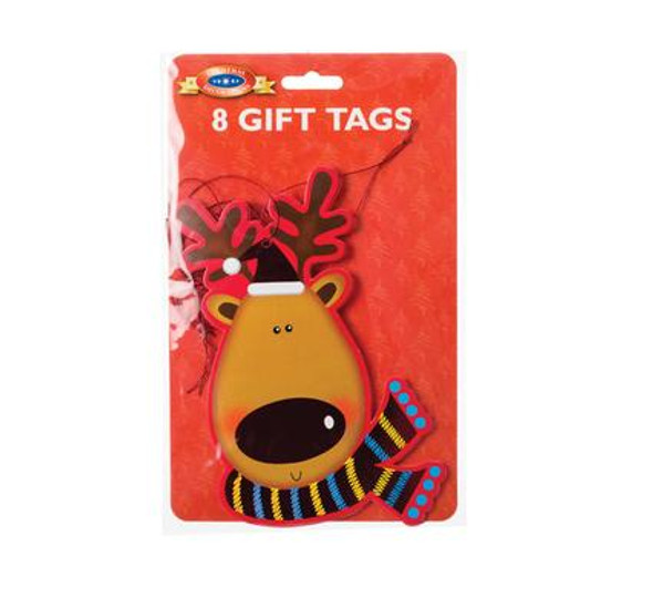 Giant Reindeer Gift Tag