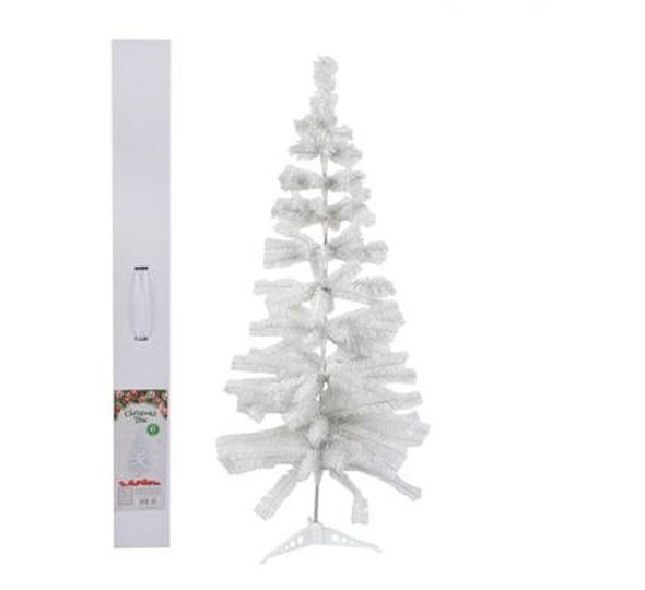 White Christmas 1.2m Tree with 161 Tips